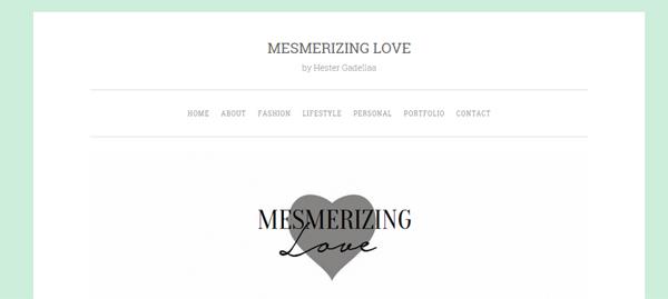 Bloggers InterviewHester mesmerizinglove