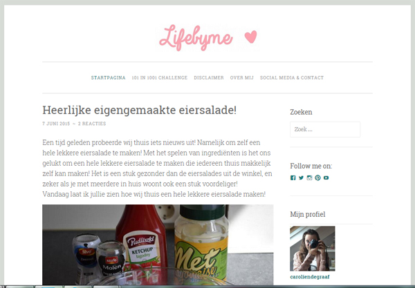 Bloggers InterviewCarolien - lifebyme93.wordpress2