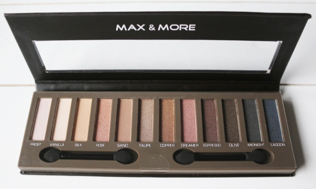 Max&More Eyeshadow Absolute Nudes4