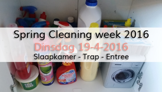 Spring Cleaning week 2016 (dag 2)