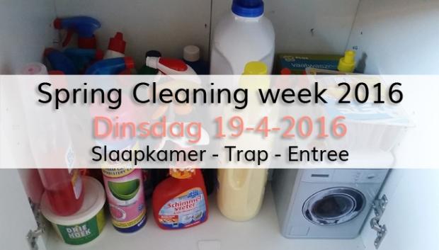 Spring Cleaning week 2016 (dag 2)