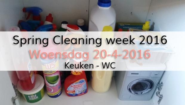 Spring Cleaning week 2016 (dag 3)