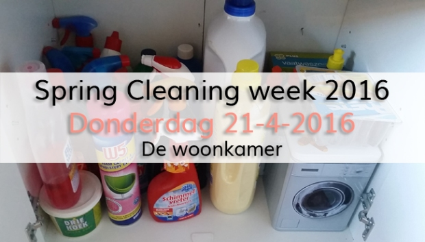 Spring Cleaning week 2016 (dag 4)
