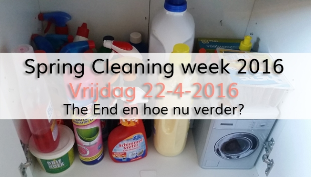 Spring Cleaning week 2016 (dag 5)